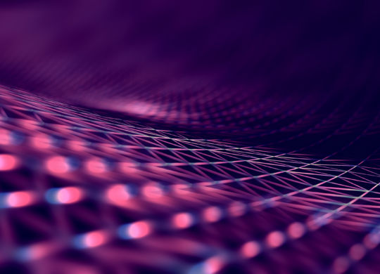 Abstract background of technology and science
